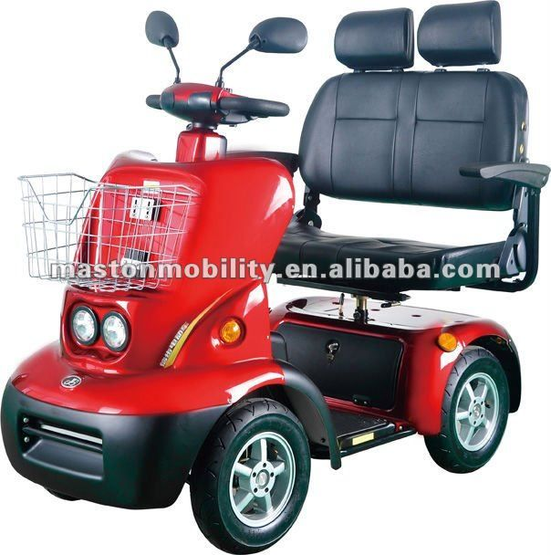 Heavy duty electric vehicle for elderly with ce approved for Motorized carts for seniors