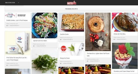You can see the recipes trending with other users of #Mastercook on ...
