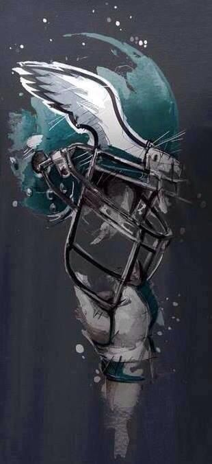 Awesome fan art. #FlyEaglesFly