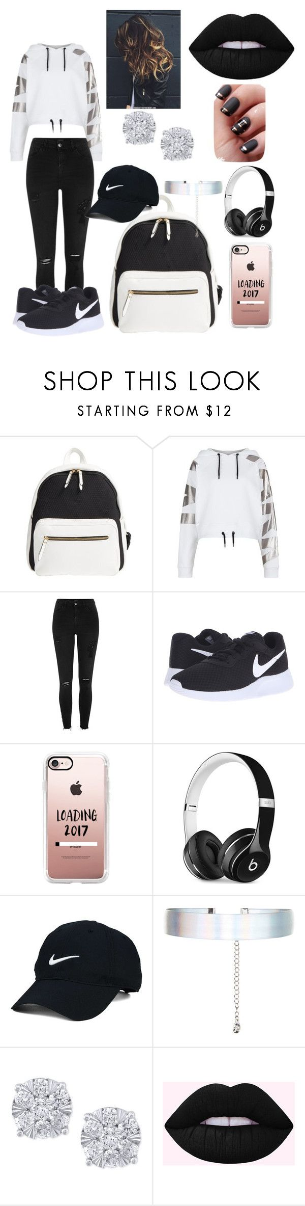 """Untitled #56"" by mari7078 ❤ liked on Polyvore featuring Poverty Flats, Ivy Park, River Island, NIKE, Casetify, Beats by Dr. Dre, Nike Golf, Accessorize and Effy Jewelry"