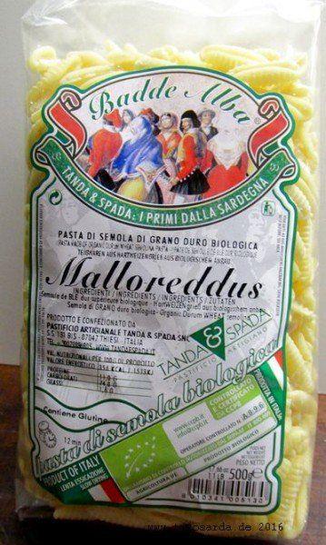 Bio Malloreddus | tiposarda - sardische Spezialitäten Shop