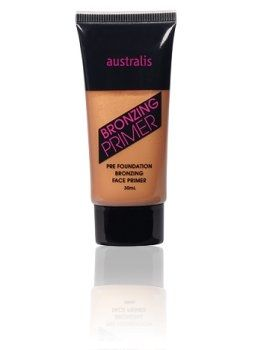 Pre- foundation bronzing face primer for luminous skin all year round. Not only is skin left feeling super soft, but it also moisturises and protects the skin against free radicals.