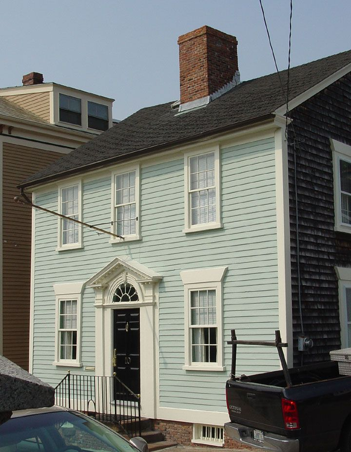134 best 18th century american homes exterior images on - Restaurant exterior color schemes ...