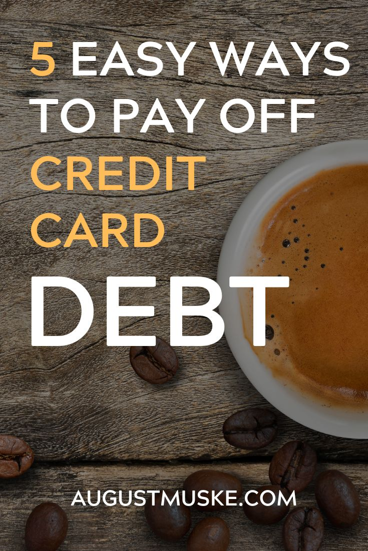 Credit card debt is a problem that has all too
