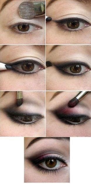 come truccarsi gli occhi marroni - Cerca con Google