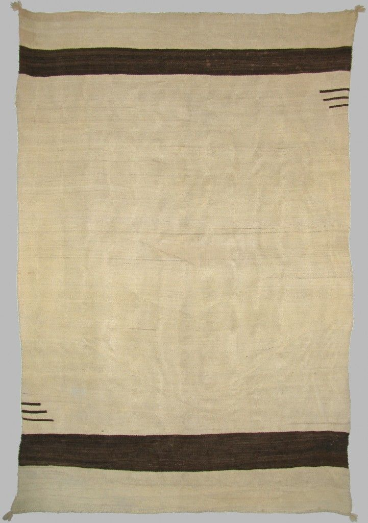 Vintage Native American Navajo Transitional Blanket, c .1890 – Shiprock Santa Fe