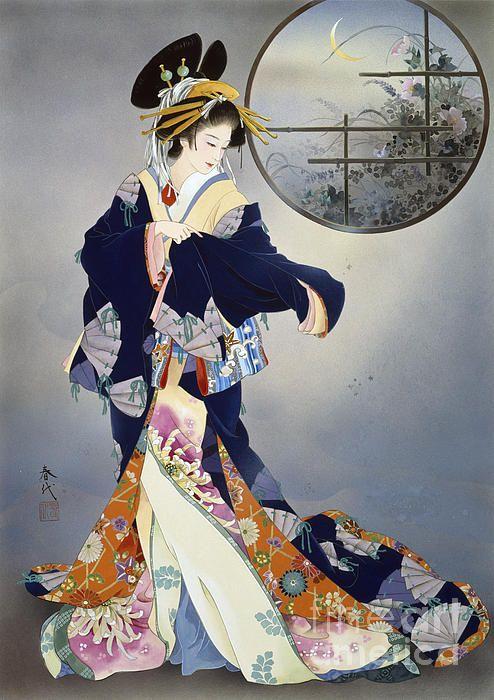 Tsukiakari by Haruyo Morita - Oiran / Tayuu