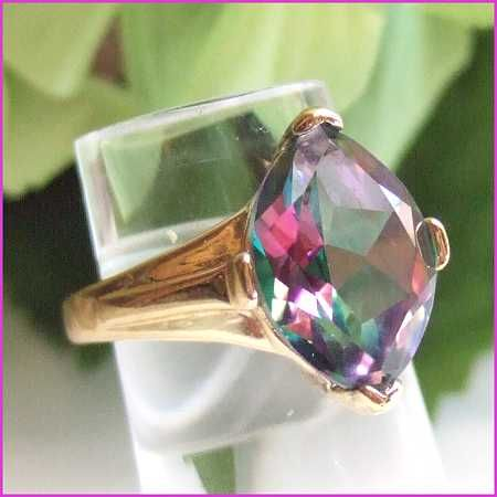 Fabulous watermelon tourmaline rings