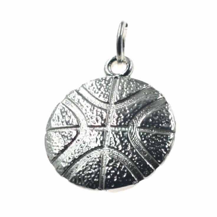 Buy our Australian made Large Basketball Flat Charm - SA-SACH162 online. Explore our range of custom made chain jewellery, rings, pendants, earrings and charms.