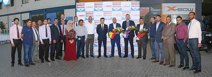 The inauguration of Bosch Service partnership with Bright Spark Auto Repairing :) All the best to all of us!