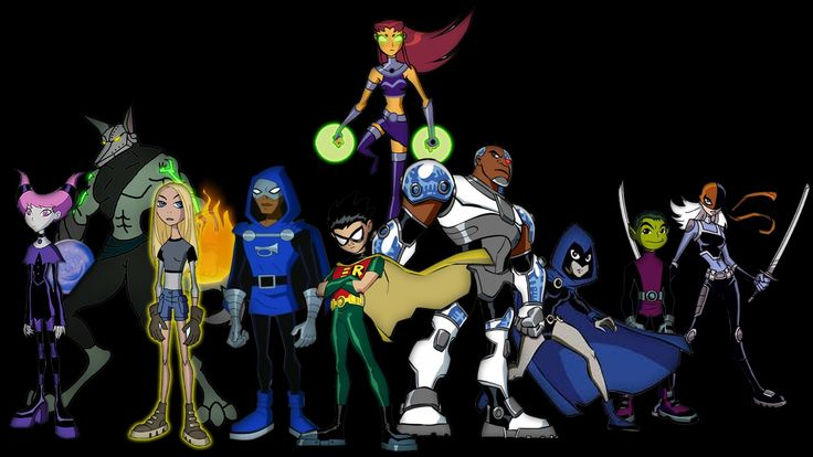 teen titans hd wallpapers