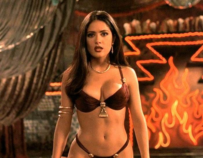 Thanks for Salma hayek body naked speaking, would