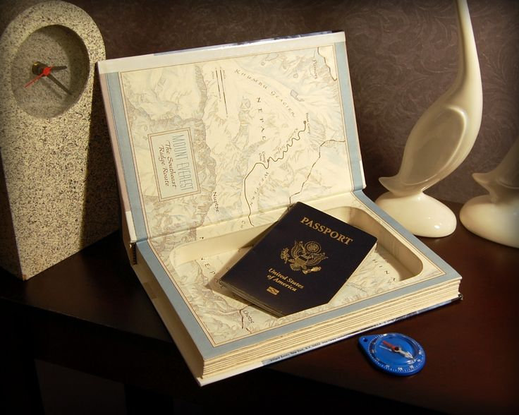 Pin this Secret Safe Book for later! FAST & FREE SHIPPING TO USA! A Secret Safe Book is the perfect way to keep your treasures safe plus makes a surprising and meaningful gift. There's a magnetic closure so your secrets will say secret, (even when your book is upright)