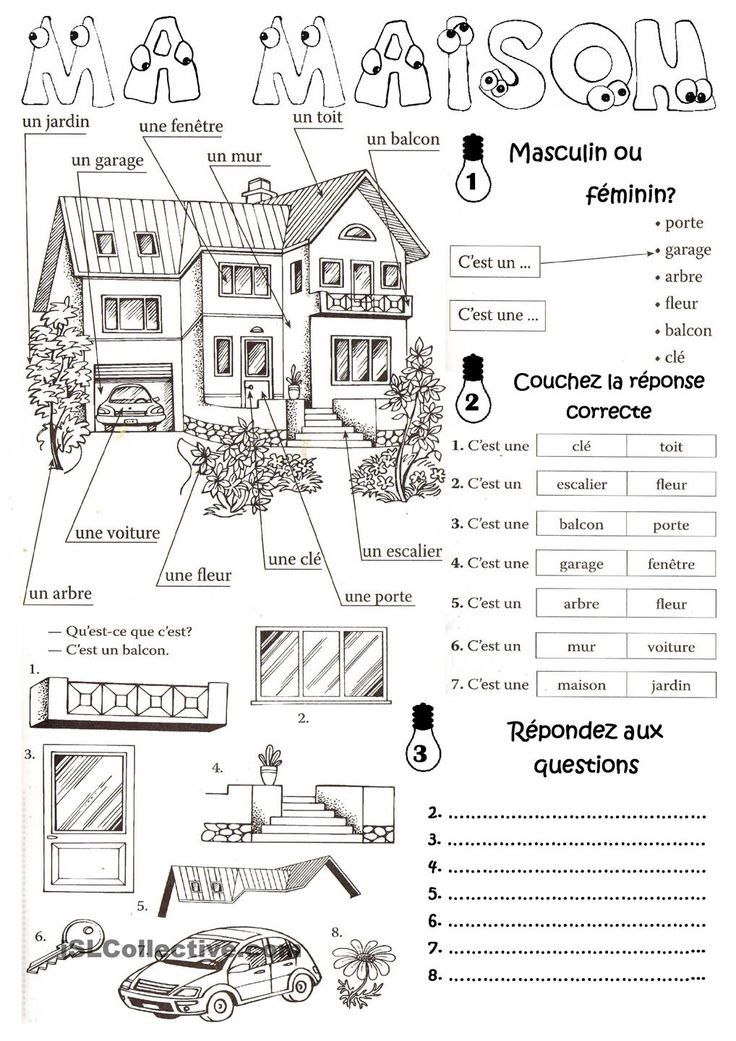 FREE French Winter Clothing Activity with dice
