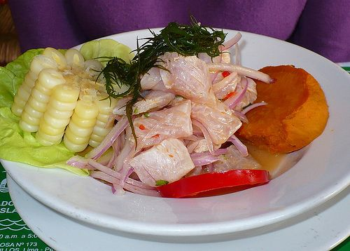 You haven't hand ceviche until you've had real ceviche from Peru.