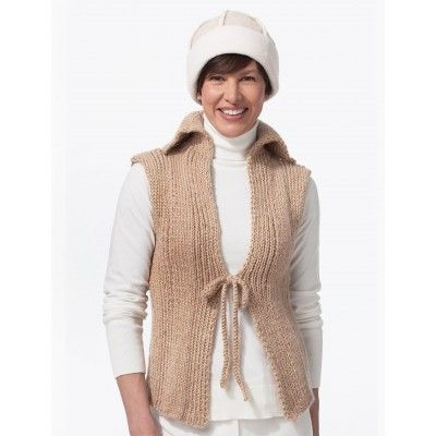 Free Vest Knitting Patterns Easy : 121 best images about Knitted vests on Pinterest Vests, Free pattern and Kn...