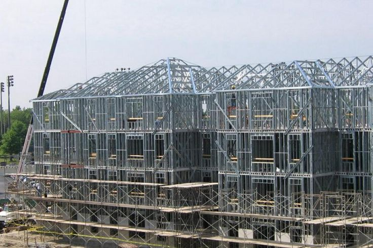 Проект 4-х этажный жилой дом из металлоконструкций  Специалистами группы…