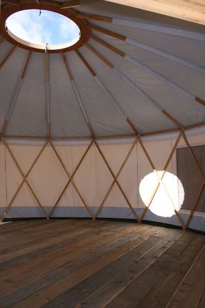 sky dome #yurt