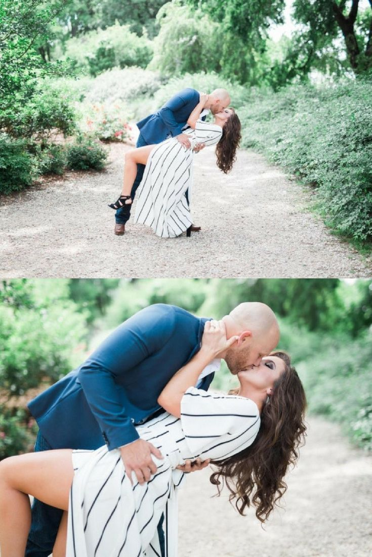 This is the dreamiest engagement pose, and the full proposal story is so perfect…