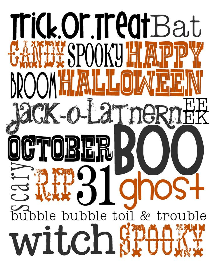 Lovely Little Snippets: Happy October! {Free Halloween Printable}. iPad/iPhone users: screen shot the pic, then go into photos and zoom in until text fills the screen, take another screen shot. Set as wallpaper!