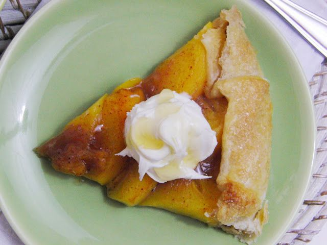 Curly Girl Kitchen: Getting your Food a little Sloshed... Bourbon Peach Galette with Mascarpone, and Beer Can Chicken...