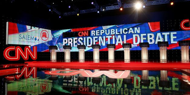 Read The Latest Updates On The CNN GOP Debate