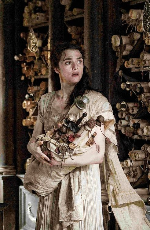 Hypatia was a brilliant philosopher and mathematician, head of the Platonist School at Alexandria in the 4th century. She is portrayed here by actress Rachel Weisz in the movie 'AGORA', trying to save scrolls from being destroyed by a Christian mob.