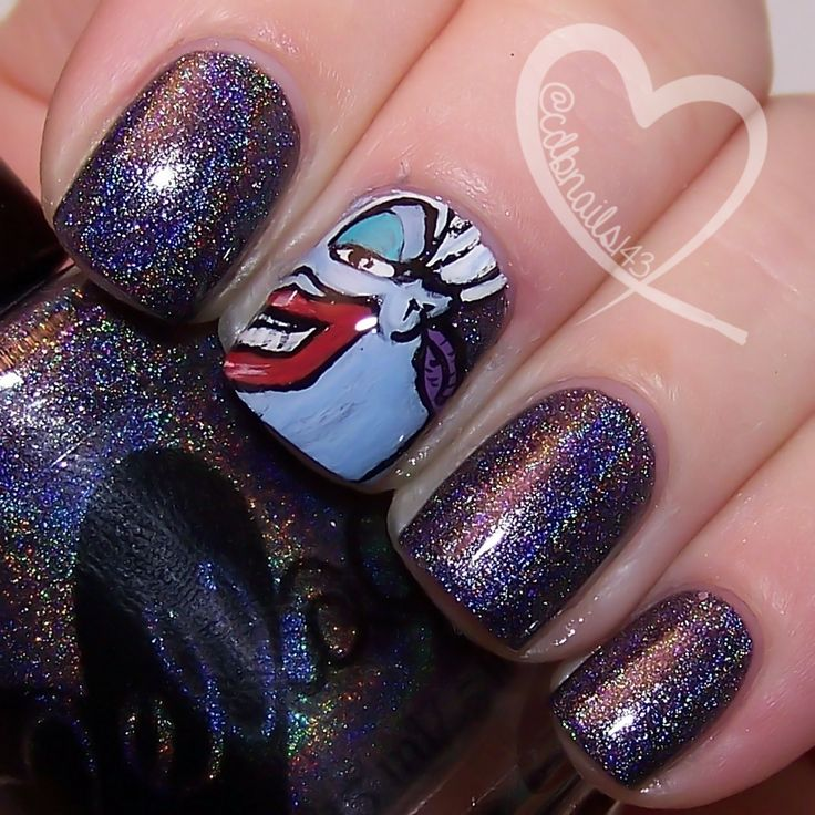 The Importance Of Body Language by ellagee.com with nail art by cdbnails.