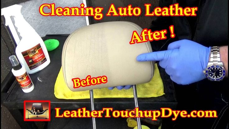 Cleaning Automotive Leather
