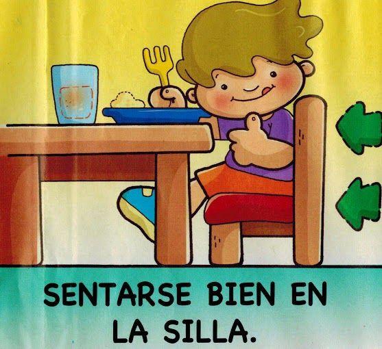 Maestra de Infantil: Normas para comer en la mesa. Hábitos de alimentación e higiene.