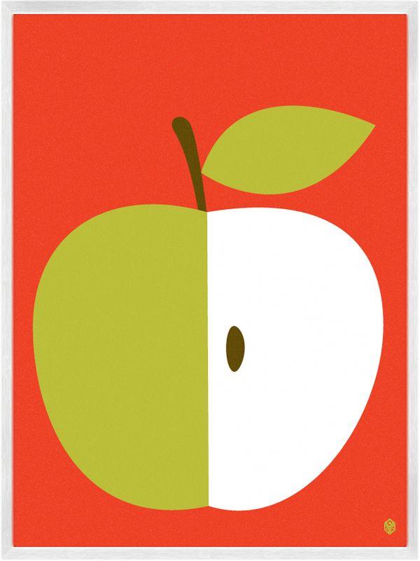 Image of Apple Print David Ryan
