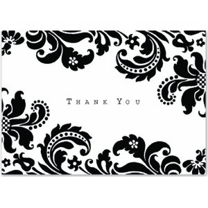 Floral thank you notes by Peter Piper Press $8.99 at Amazon