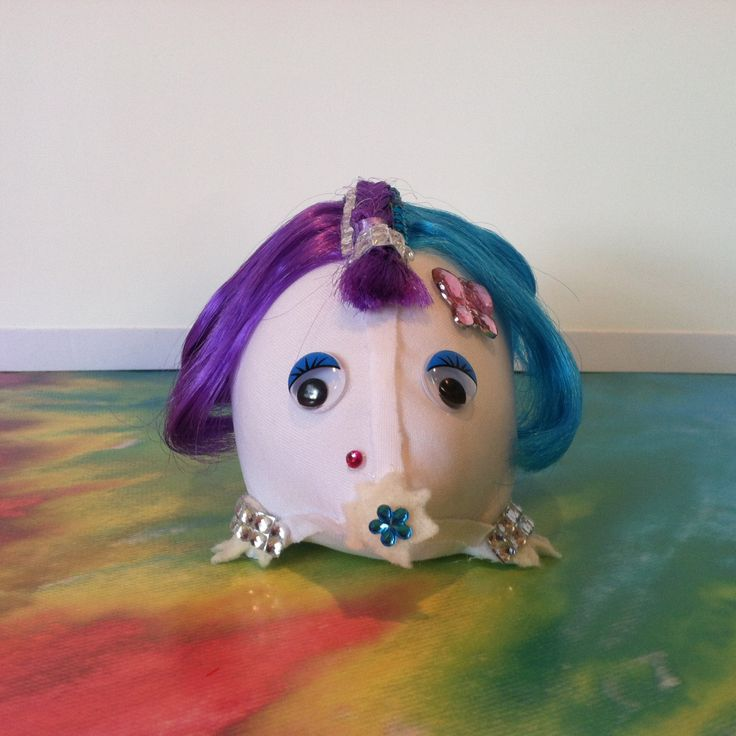 Rainbow Baby Mole (Violet) by veramaecollection on Etsy