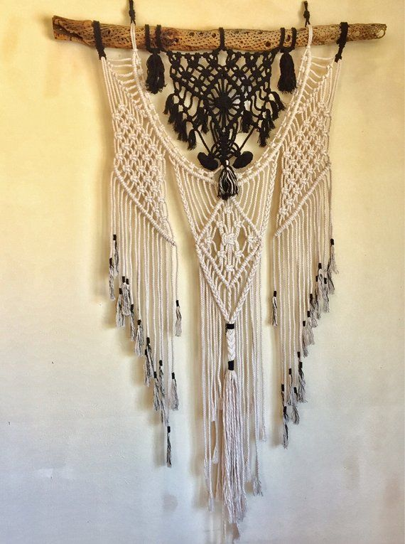 The Eagle Is Dreaming Macrame Wall Art Divine Wall Etsy Macrame Wall Art Macrame Wall Hanging Flower Wall Design