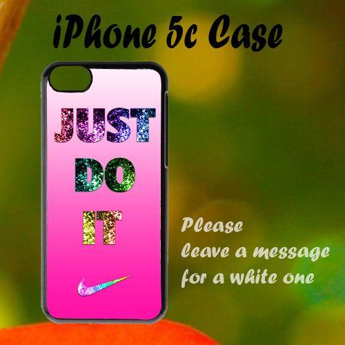 Nike Just Do It Pink Cute iPhone 5c Case, Plastic Case, Best Case
