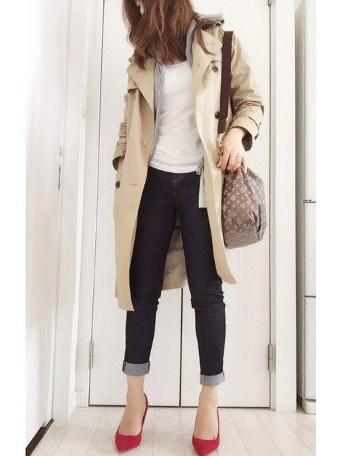 IENAのトレンチコート「シャンブレギャバ トレンチコート◆」を使ったmayのコーディネートです。WEARはモデル・俳優・ショップスタッフなどの着こなしをチェックできるファッションコーディネートサイトです。