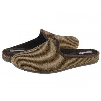 Papuci casa barbati Flama Gioseppo beig #homeshoes #cozy #Shoes