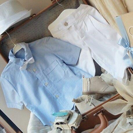 Γαλάζιο πουκαμισάκι,με ολολευκο παντελόνι άκρως  αριστοκρατικό στις καλύτερες τιμές  της αγοράς! Ολολευκο βαμβακερό  για  να ντύσετε  το μωράκι  Σας!Καλέστε  2105157506 www.valentina-christina.gr  #βάπτιση #βαπτιση #vaptisi#baptisi #vaptism #vaftisi #vaptistika#βαπτιστικα