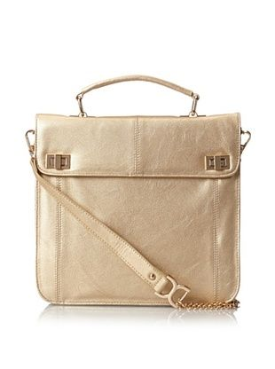 38% OFF Nila Anthony Women's Classic Cross-Body, Gold