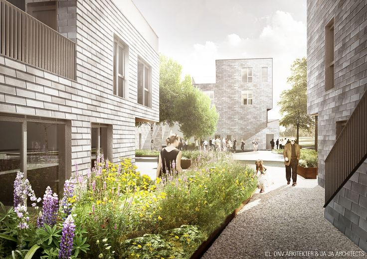 Jaja onv architects win copenhagen affordable housing competition architecture architects - Affordable social housing ...