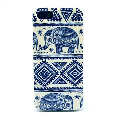 Special Design Elephant Pattern Back Case for iPhone 5/5S – EUR € 2.75