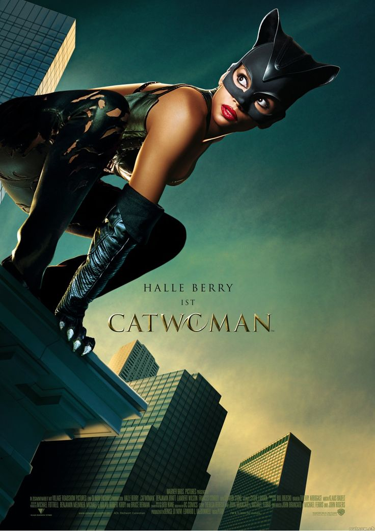 CAT WOMAN (Halle Berry was cast for the stand alone Cat Woman movie)