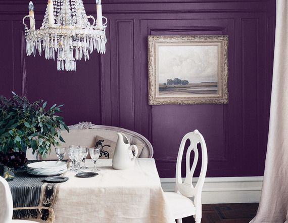 Beautiful Purple Dining Room Ideas Pictures Room Design Ideas