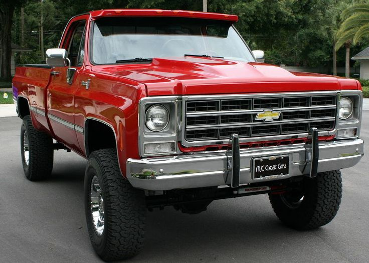 Classic 4X4 Trucks For Sale >> 1979 Chevrolet C/K Pickup 1500 4X4 - RESTORED - 6K MILES | Trucks, Chevy, Chevy trucks