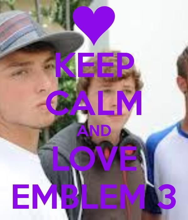 emblem 3 xfactor love pinterest keep calm change