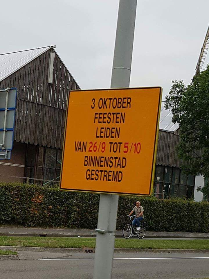 Het grootste feest van Leiden is weer in aantocht! 3 DAGEN VOL MET MUZIEKKORPSEN Dit jaar is AMIGO bij alle dagen aanwezig. KOM OOK KIJKEN:  1 oktober: Streetparade 'Lint van Licht' (avond) 2 oktober: Pleintaptoe Leiden (dag) 3 oktober: Grote 3 October optocht (dag)
