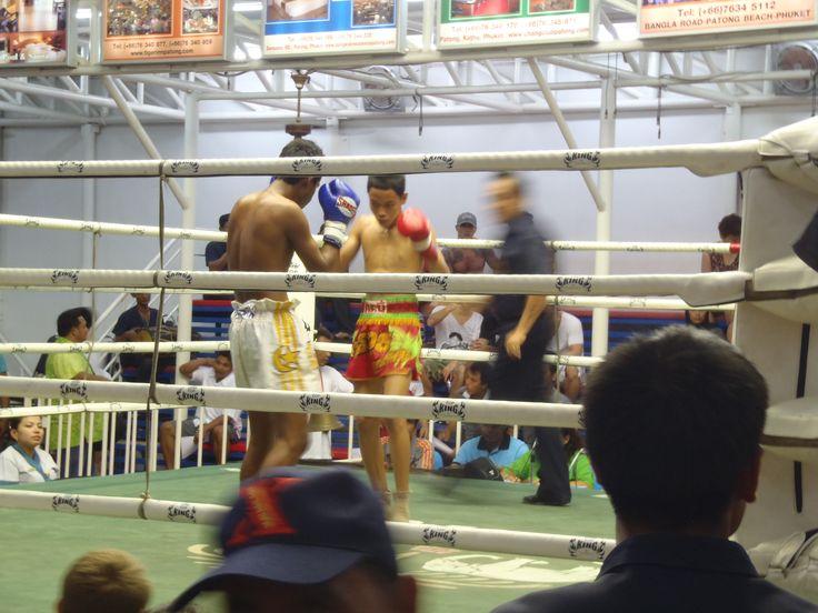 Thai boxing. Patong, Phuket.