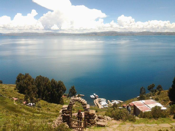 Isla Taquile, Lago Titicaca, Peru en Puno