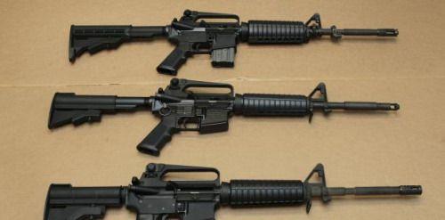 Concesionario de autos regala rifle similar al usado en Orlando....