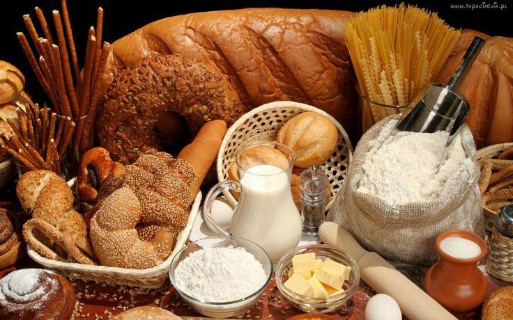 Wypieki, Bułki, Chleb, Mąka, Mleko